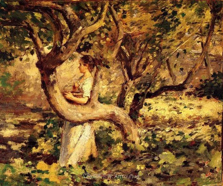 他与莫奈关系密切,是最早接触印象派的美国艺术家之一插图67