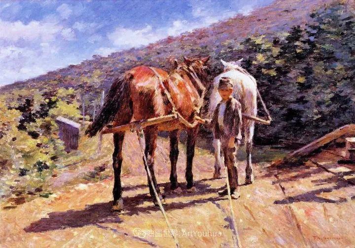 他与莫奈关系密切,是最早接触印象派的美国艺术家之一插图111