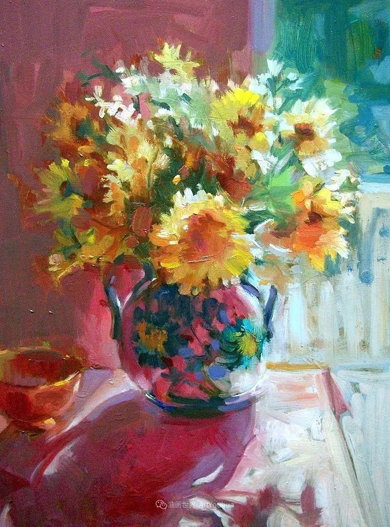 美国画家玛丽·麦克萨姆花卉作品选(下)插图1
