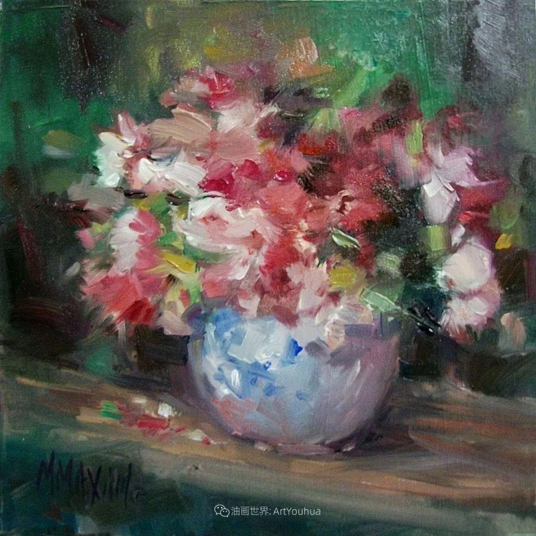 美国画家玛丽·麦克萨姆花卉作品选(下)插图5