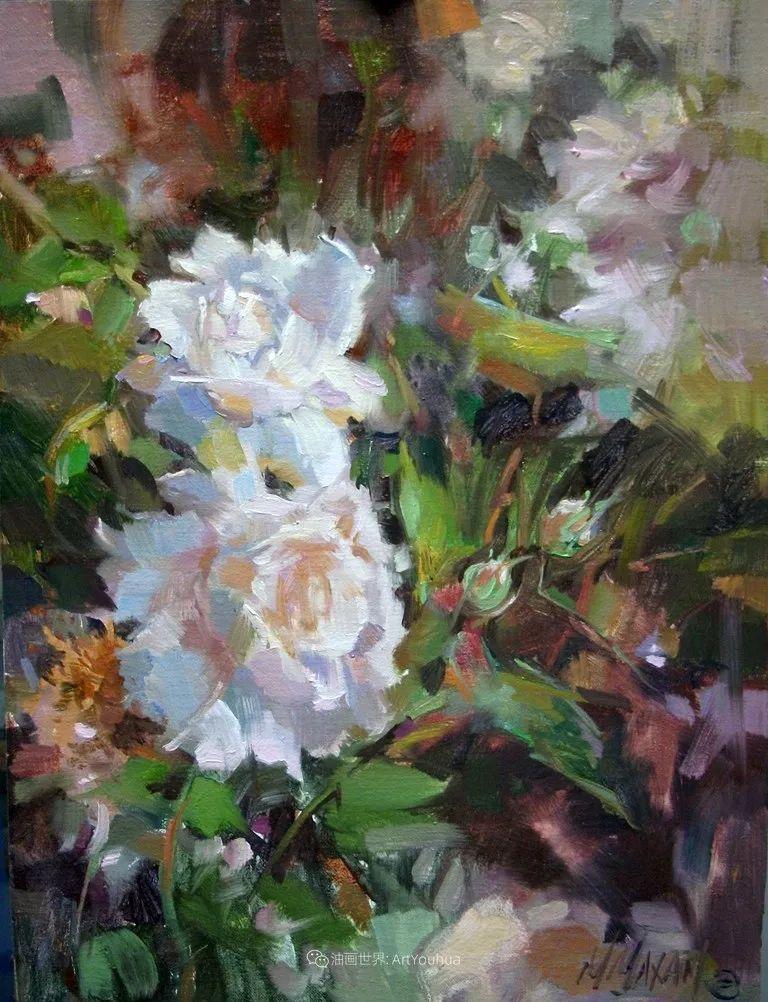 美国画家玛丽·麦克萨姆花卉作品选(下)插图7
