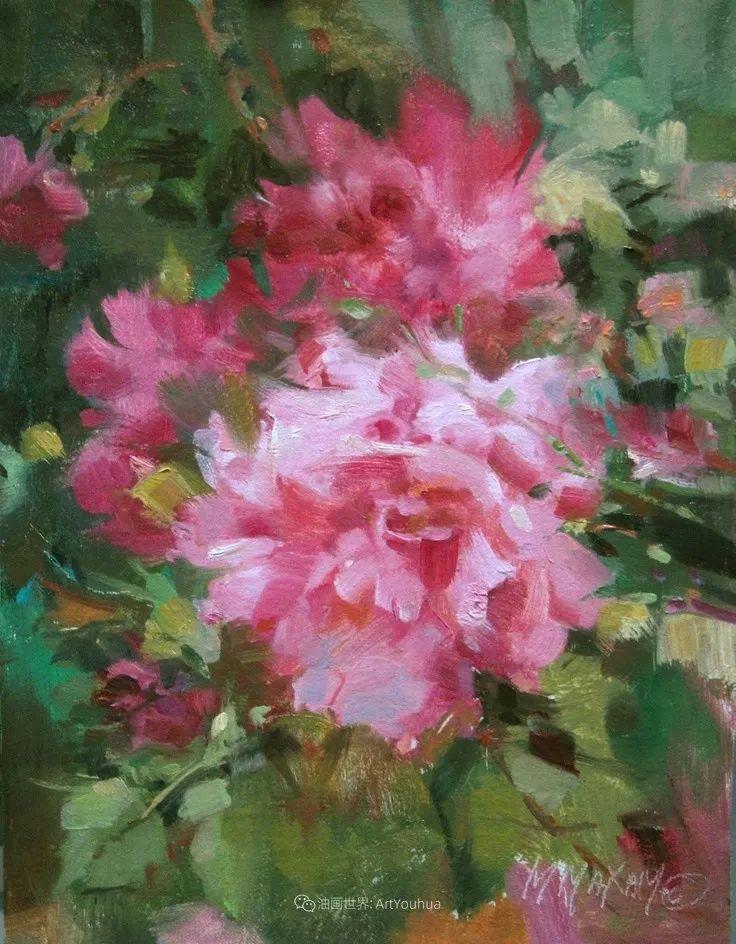 美国画家玛丽·麦克萨姆花卉作品选(下)插图15