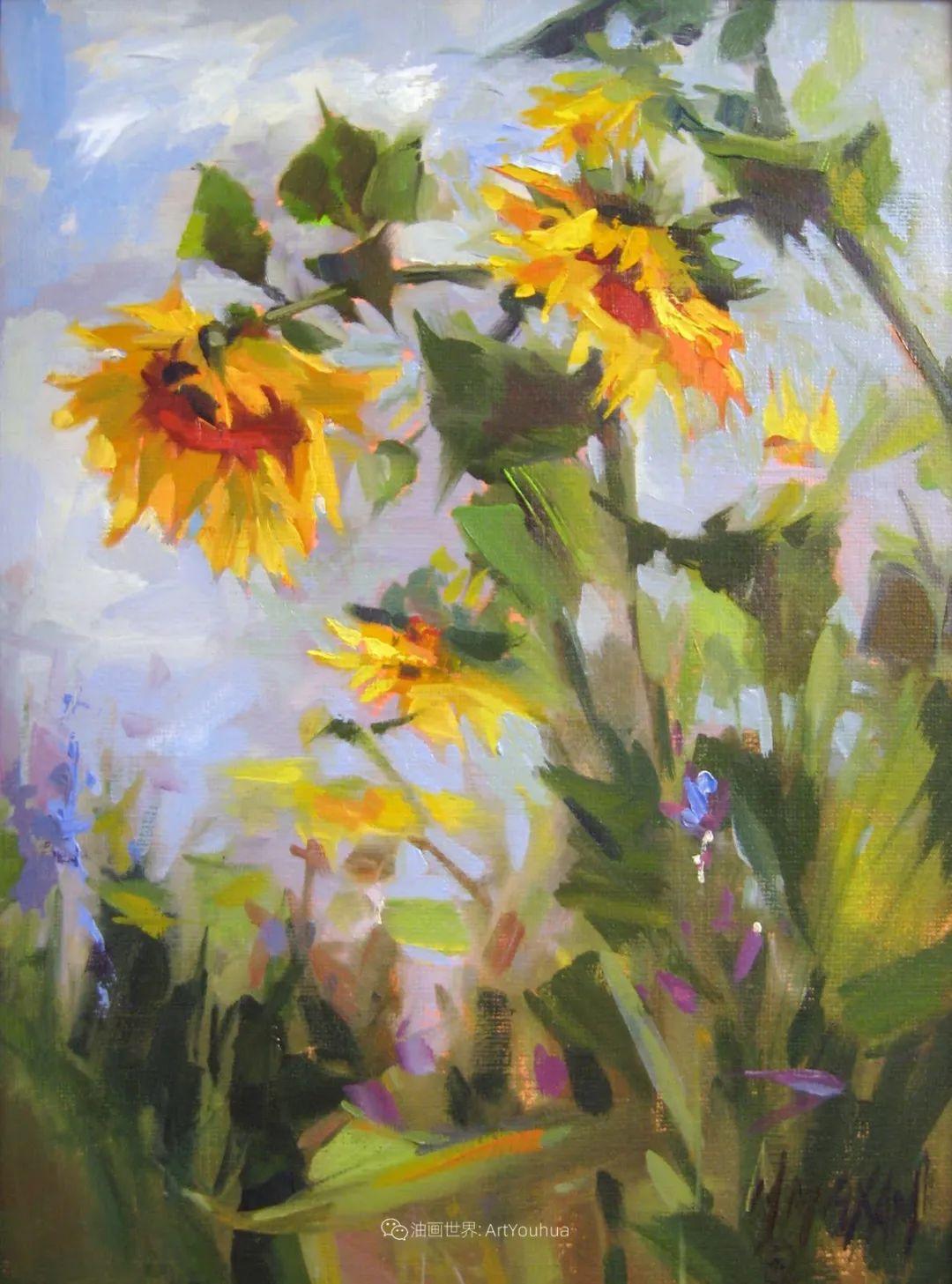 美国画家玛丽·麦克萨姆花卉作品选(下)插图17