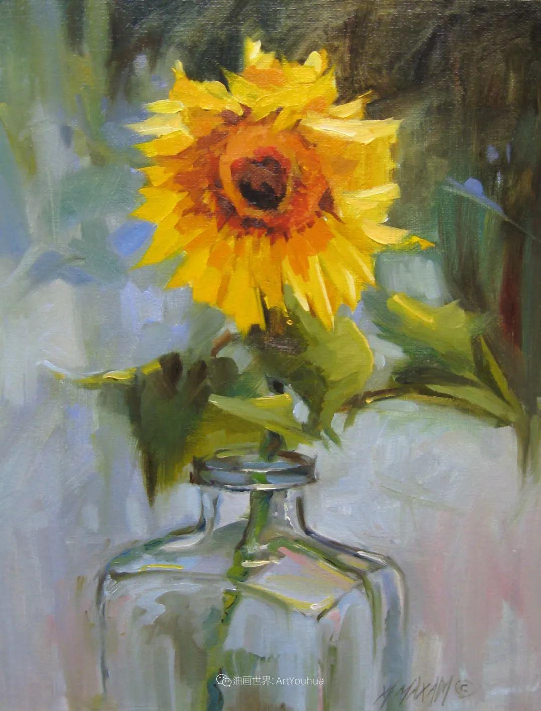 美国画家玛丽·麦克萨姆花卉作品选(下)插图19