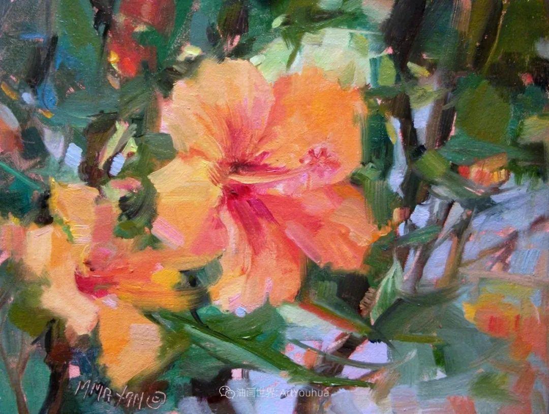 美国画家玛丽·麦克萨姆花卉作品选(下)插图23