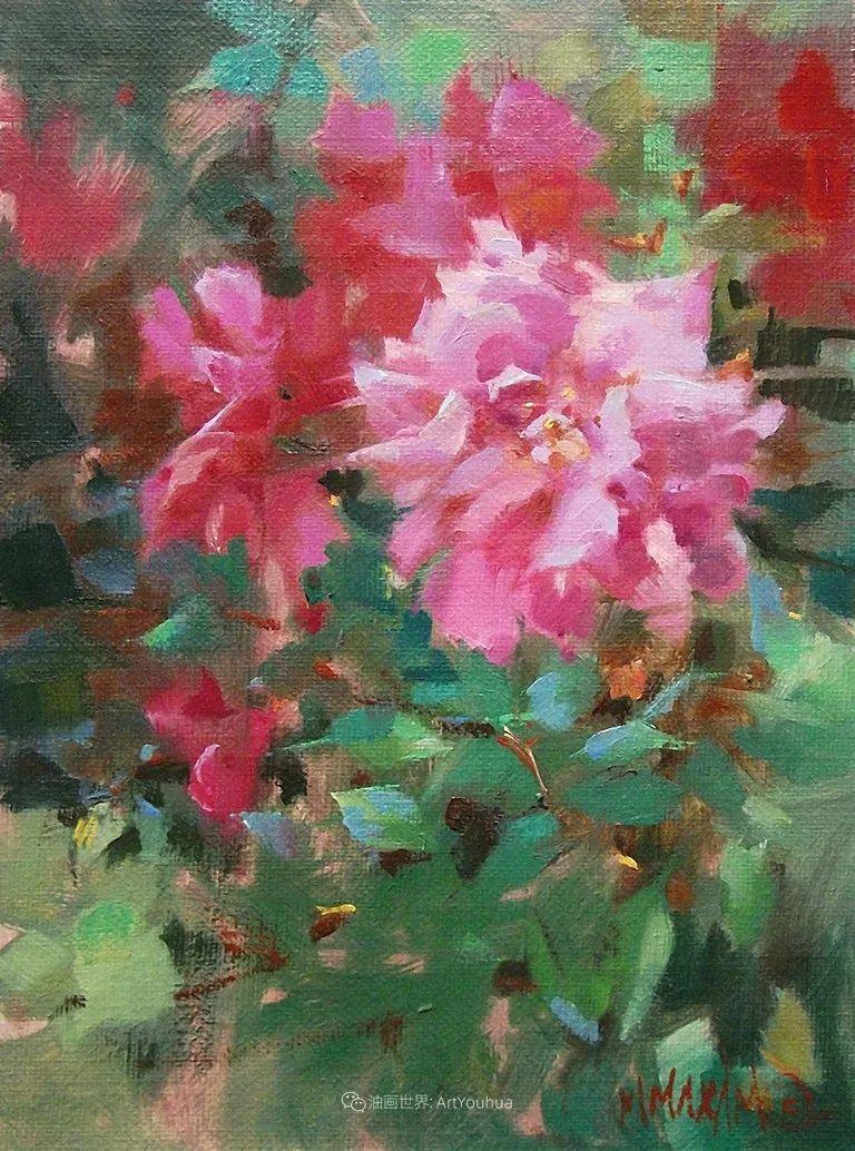 美国画家玛丽·麦克萨姆花卉作品选(下)插图25