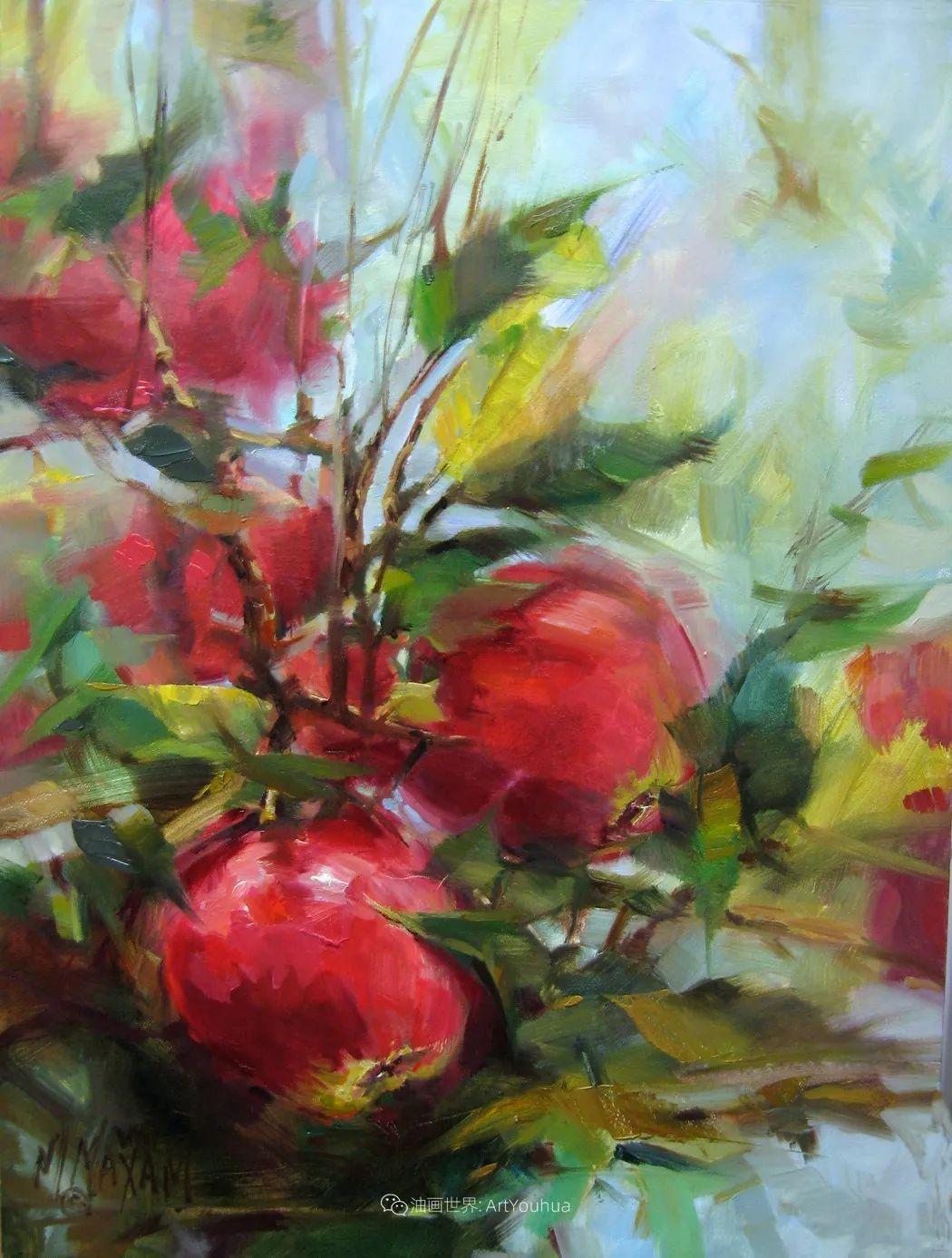美国画家玛丽·麦克萨姆花卉作品选(下)插图27