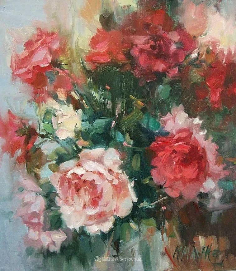 美国画家玛丽·麦克萨姆花卉作品选(下)插图29