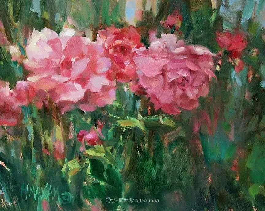 美国画家玛丽·麦克萨姆花卉作品选(下)插图31