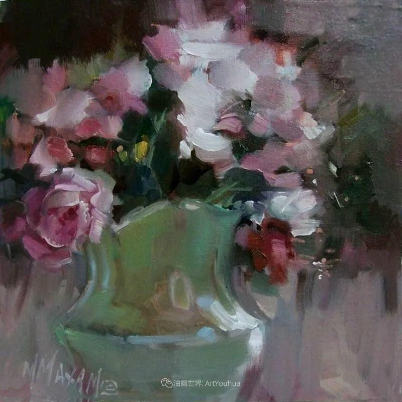 美国画家玛丽·麦克萨姆花卉作品选(下)插图33