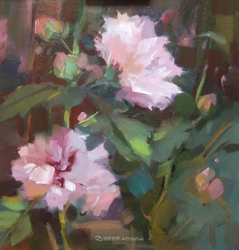 美国画家玛丽·麦克萨姆花卉作品选(下)插图35