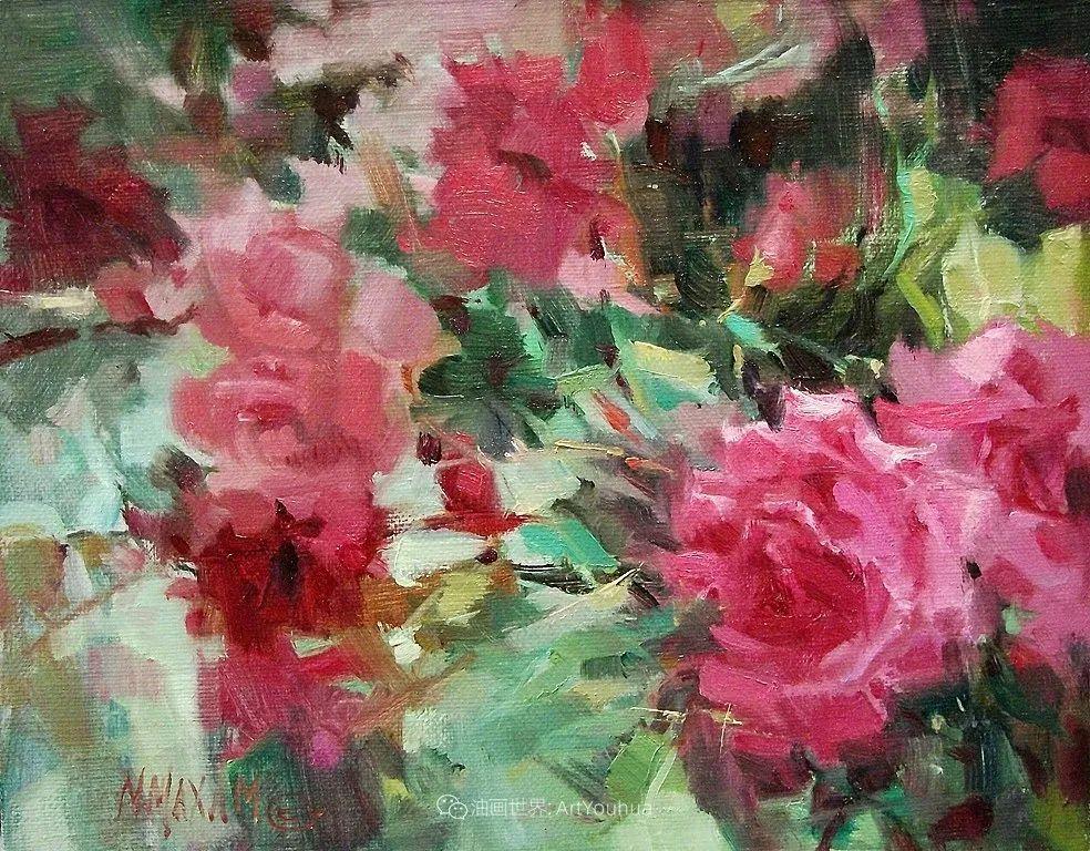 美国画家玛丽·麦克萨姆花卉作品选(下)插图37