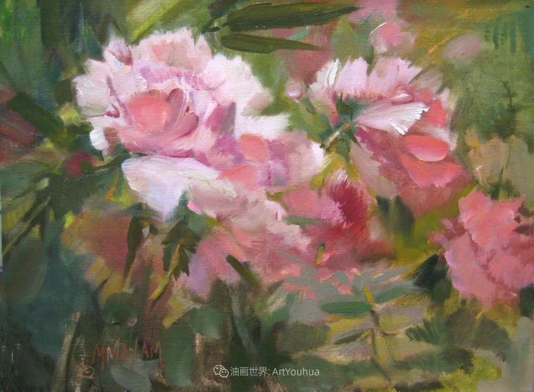美国画家玛丽·麦克萨姆花卉作品选(下)插图41