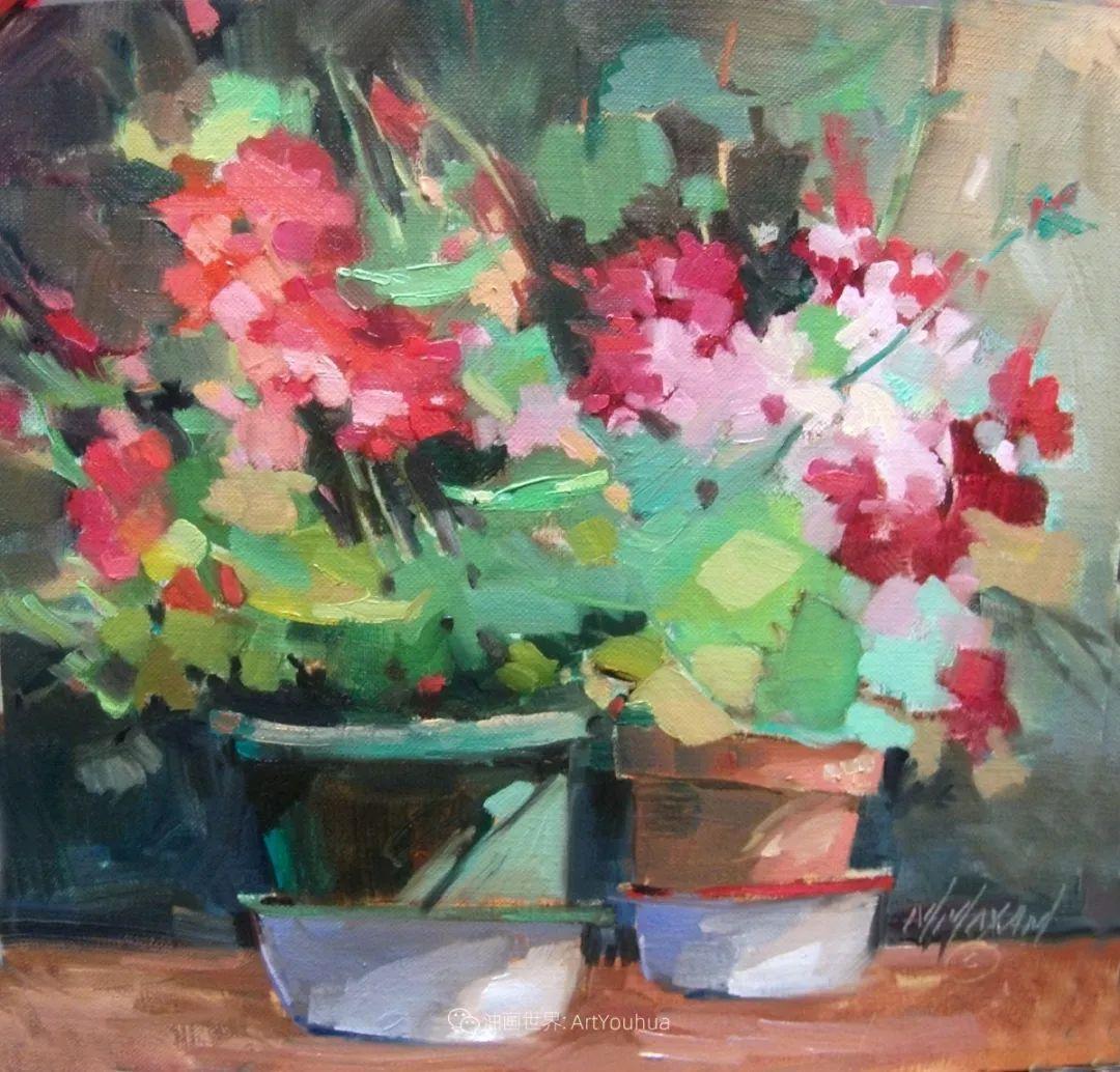 美国画家玛丽·麦克萨姆花卉作品选(下)插图45
