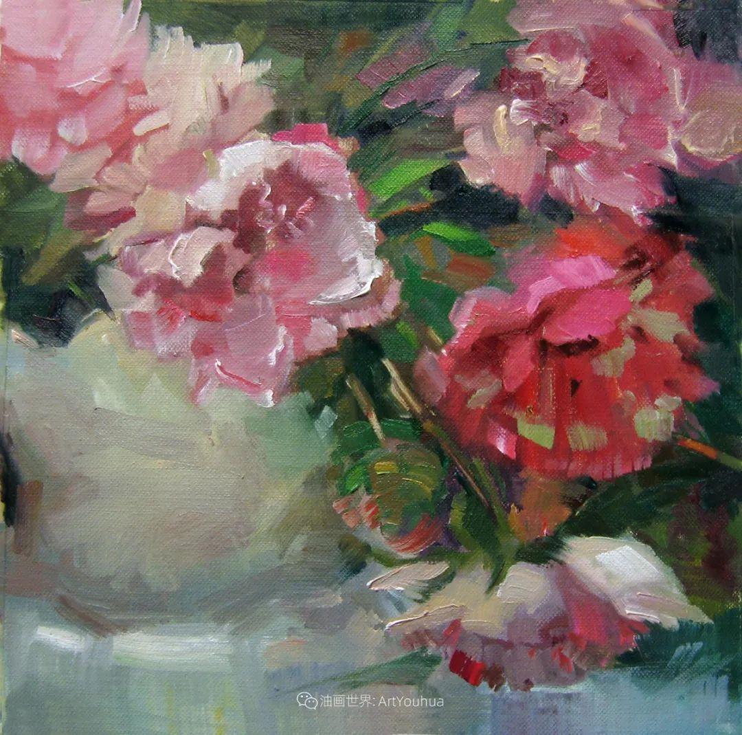 美国画家玛丽·麦克萨姆花卉作品选(下)插图47