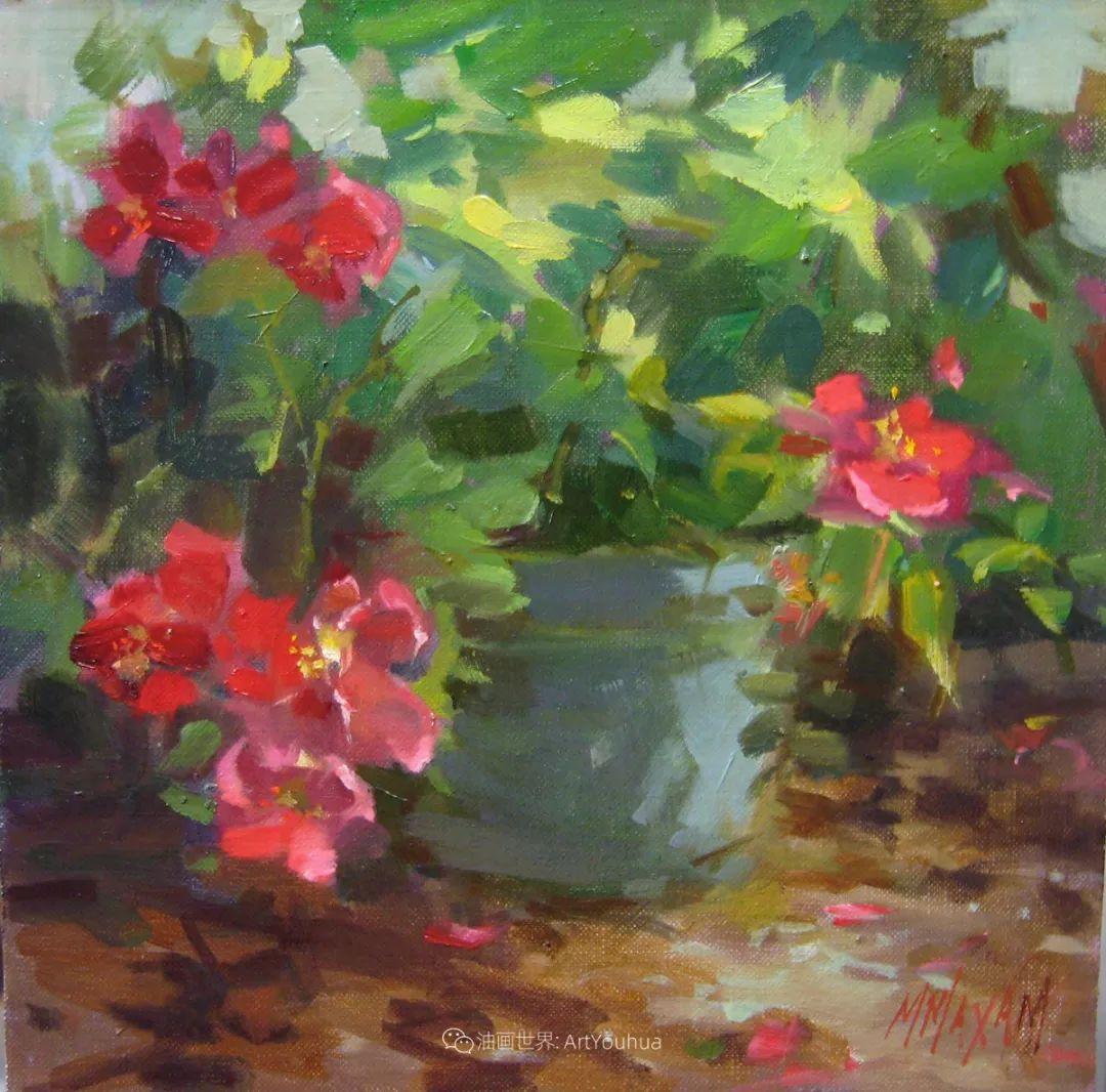 美国画家玛丽·麦克萨姆花卉作品选(下)插图49