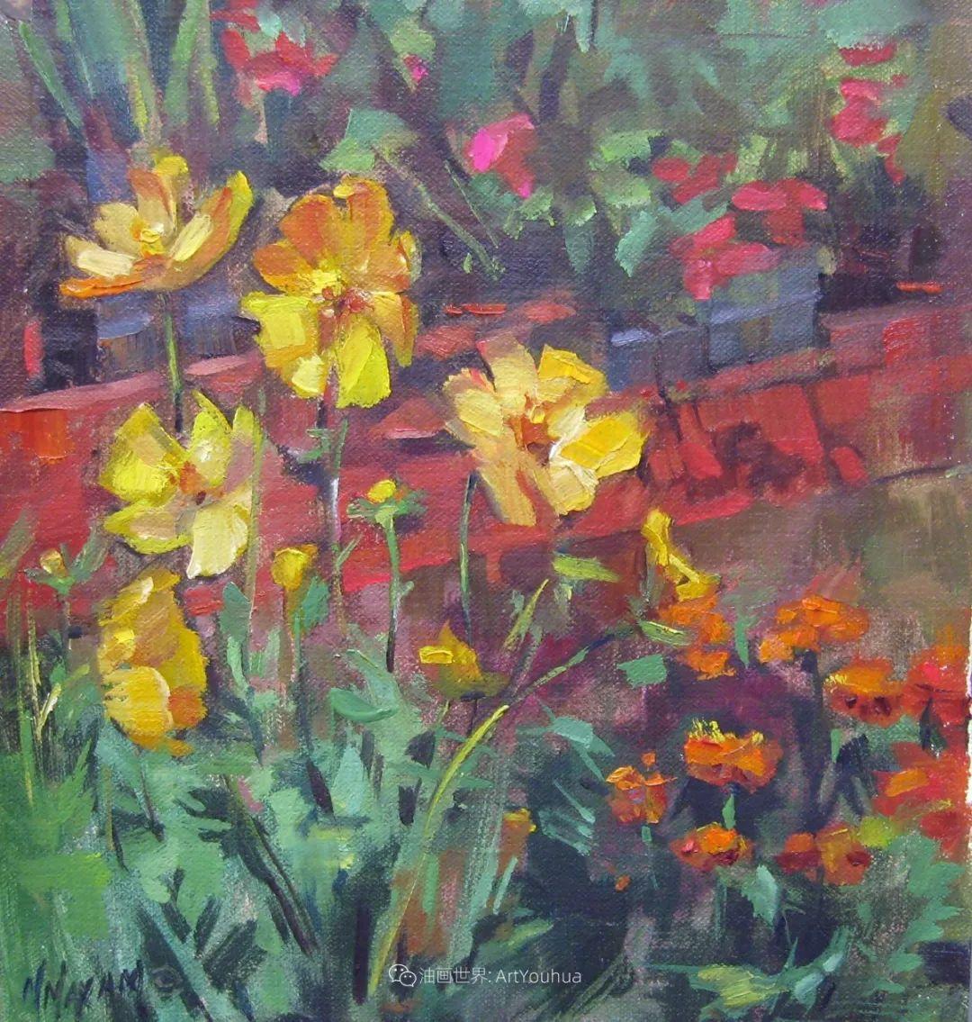 美国画家玛丽·麦克萨姆花卉作品选(下)插图51