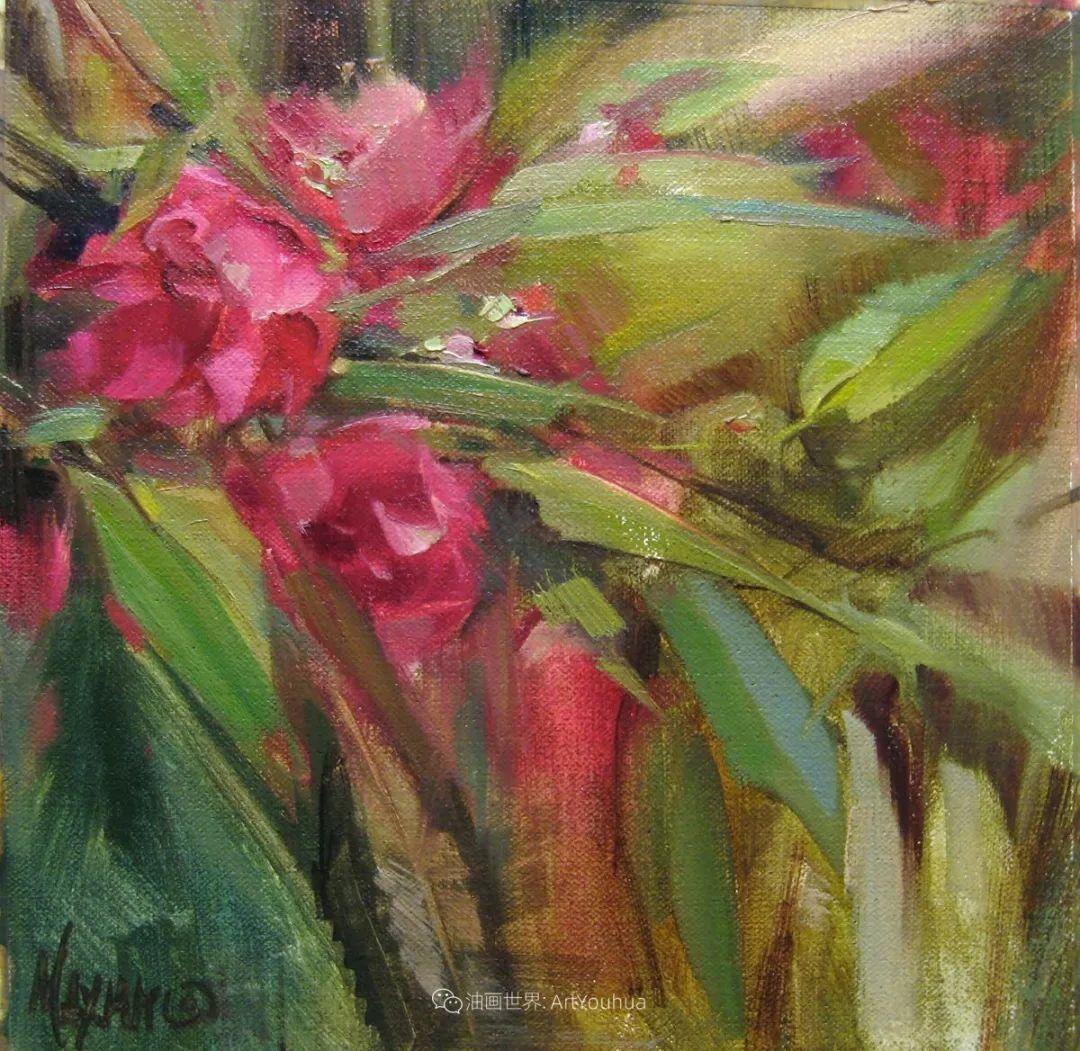 美国画家玛丽·麦克萨姆花卉作品选(下)插图53