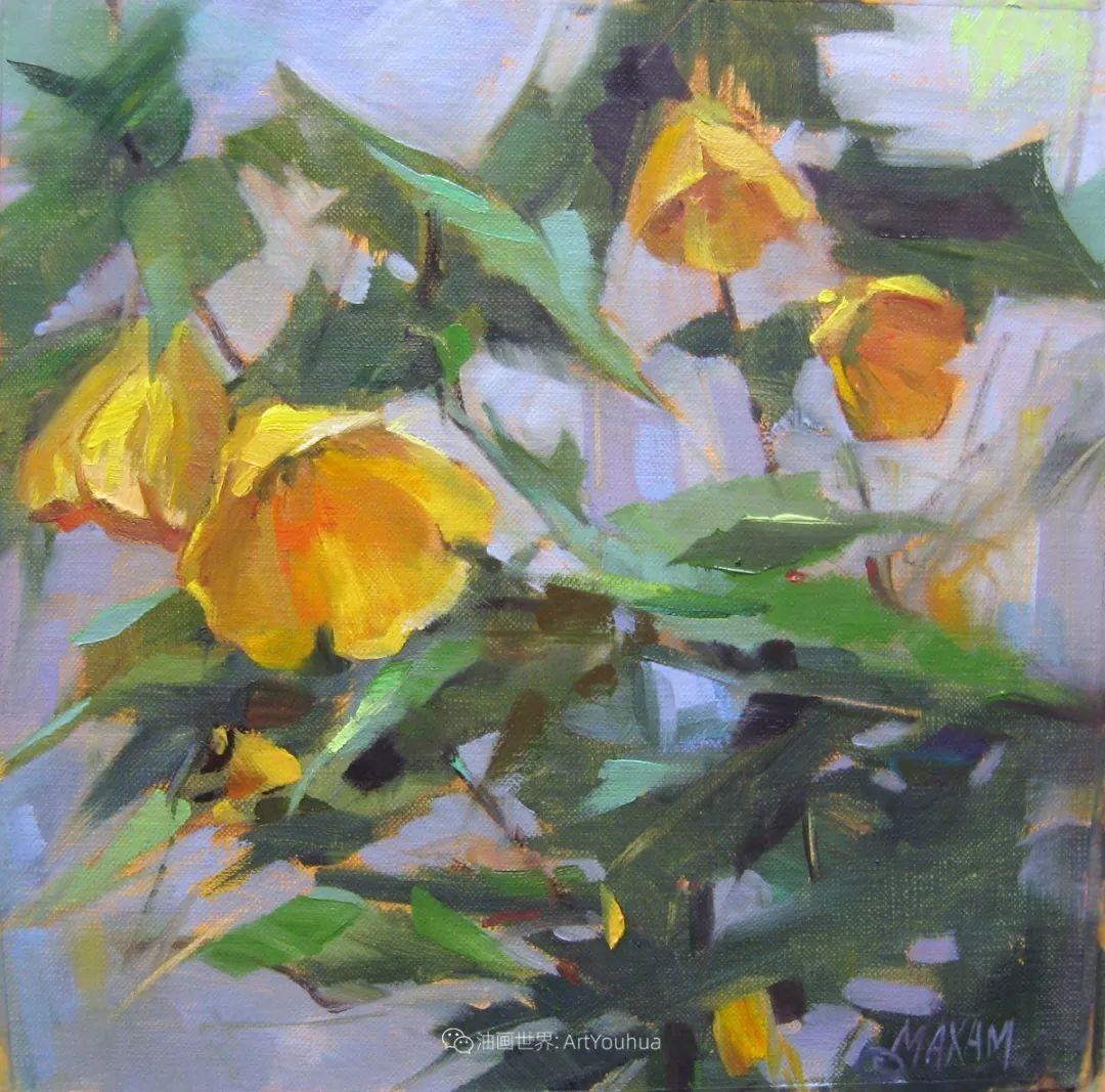 美国画家玛丽·麦克萨姆花卉作品选(下)插图55
