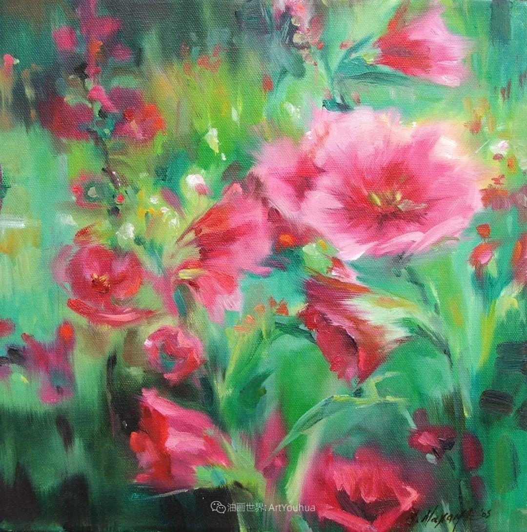 美国画家玛丽·麦克萨姆花卉作品选(下)插图59