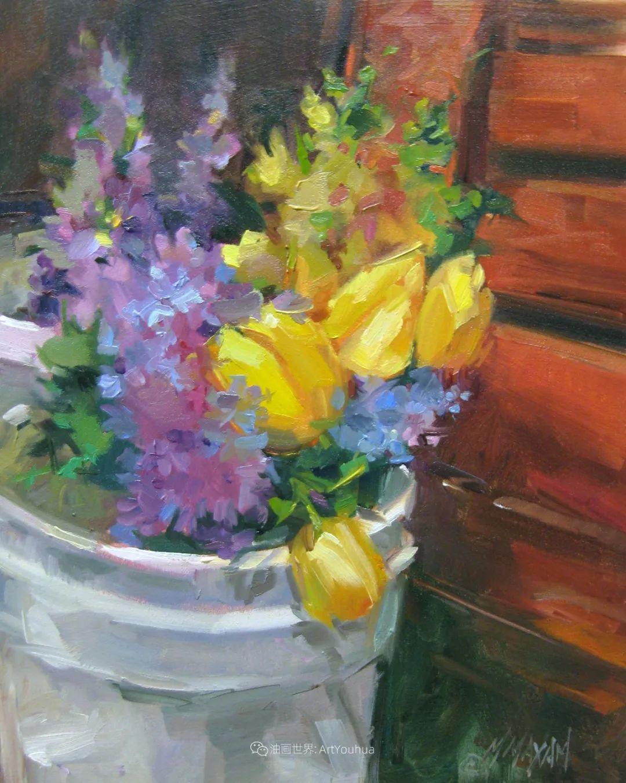 美国画家玛丽·麦克萨姆花卉作品选(下)插图63