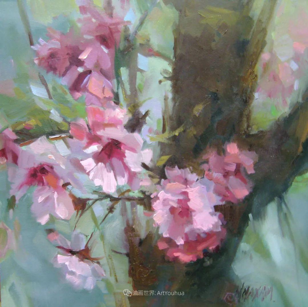 美国画家玛丽·麦克萨姆花卉作品选(下)插图65