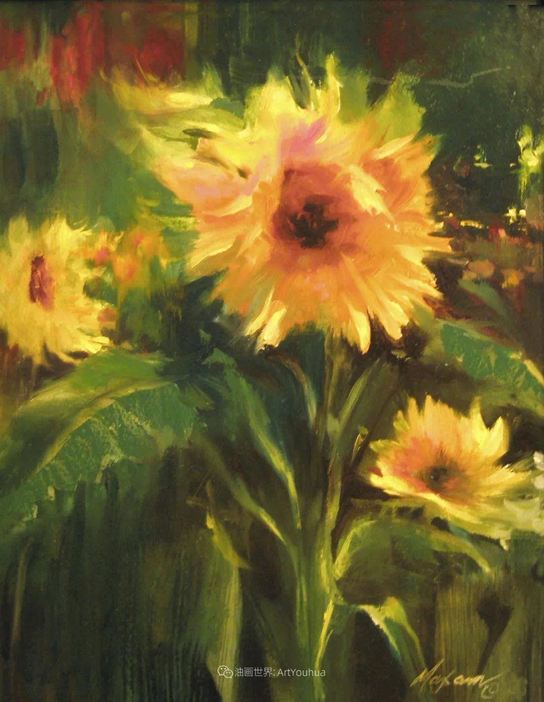 美国画家玛丽·麦克萨姆花卉作品选(下)插图67