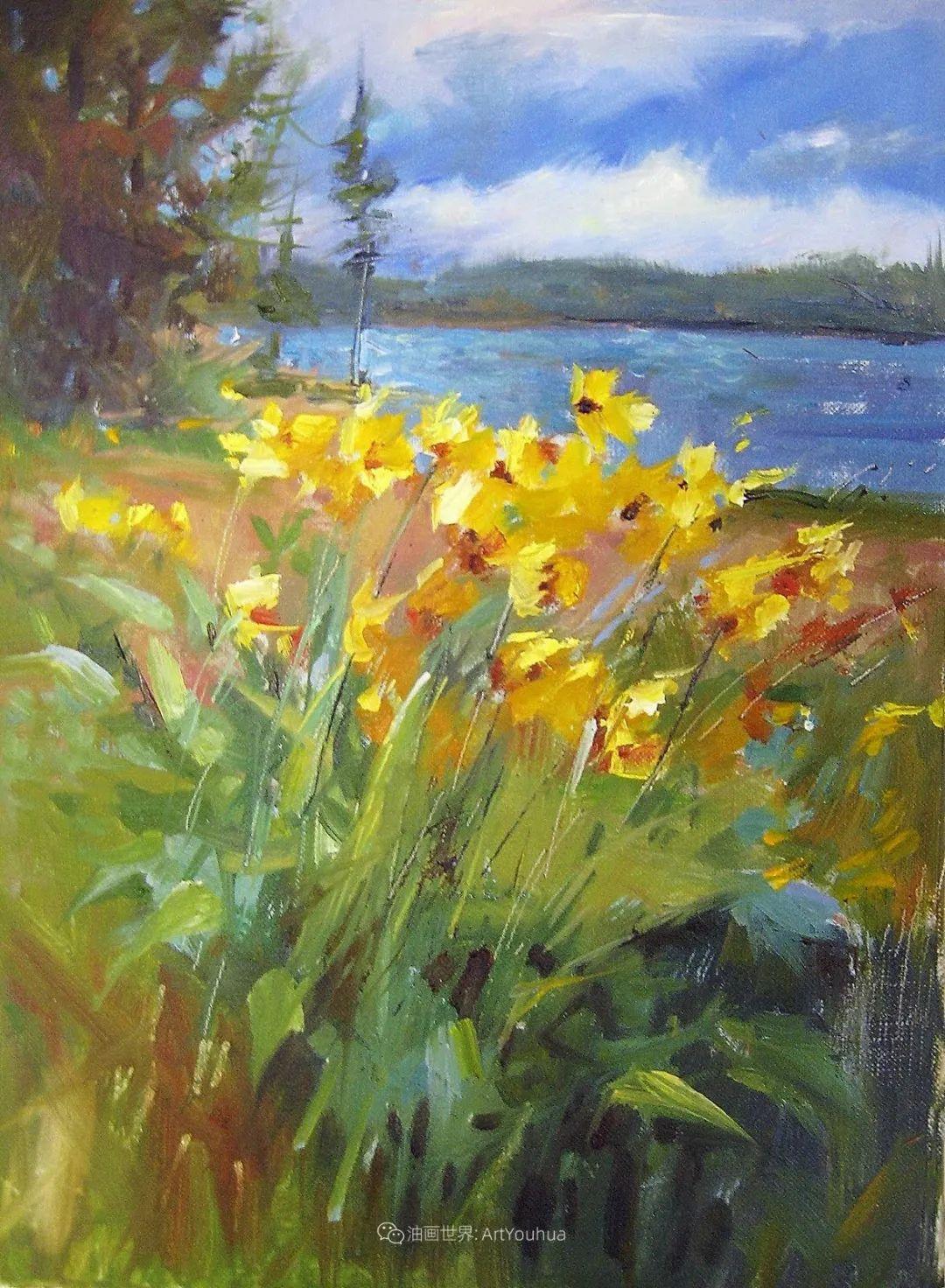 美国画家玛丽·麦克萨姆花卉作品选(下)插图69