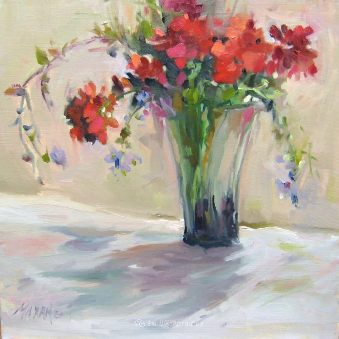美国画家玛丽·麦克萨姆花卉作品选(下)插图71