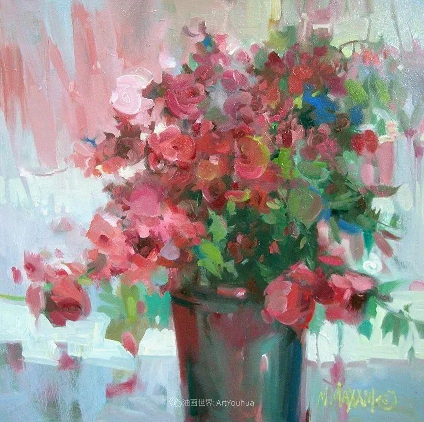 美国画家玛丽·麦克萨姆花卉作品选(下)插图75