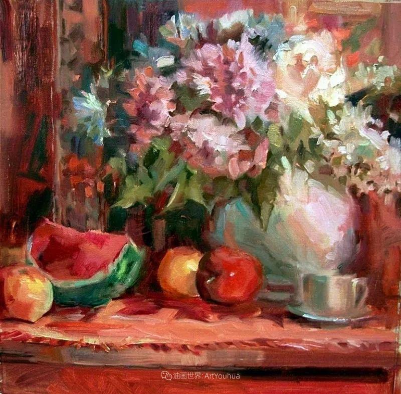 美国画家玛丽·麦克萨姆花卉作品选(下)插图79