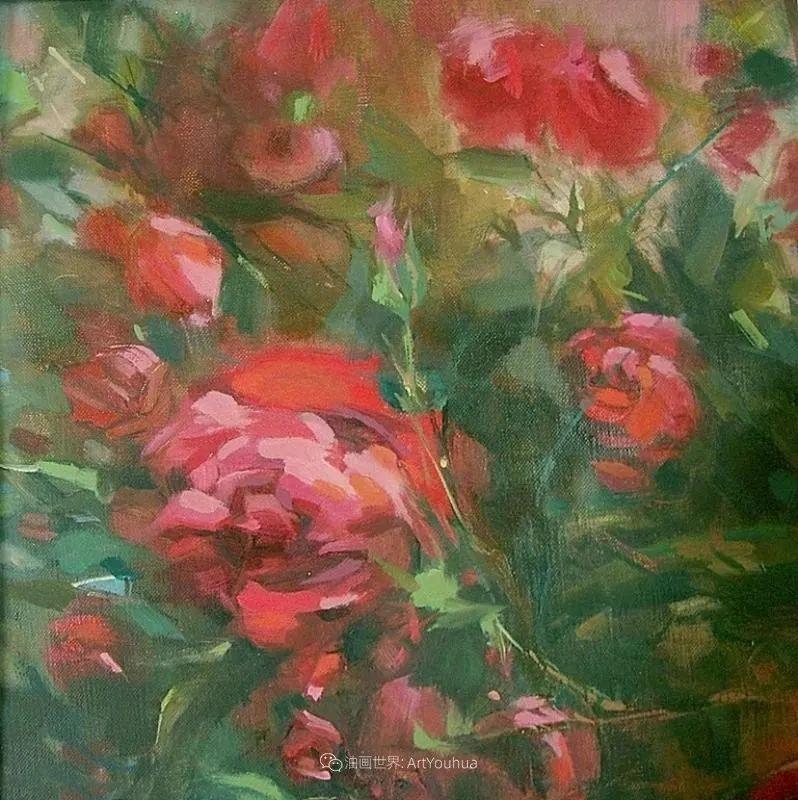 美国画家玛丽·麦克萨姆花卉作品选(下)插图87