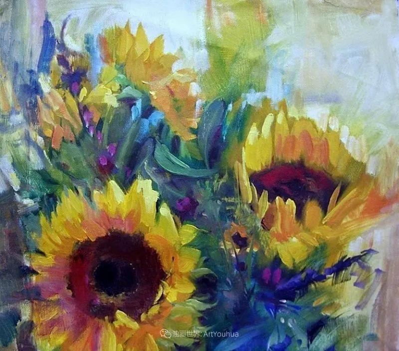 美国画家玛丽·麦克萨姆花卉作品选(下)插图89