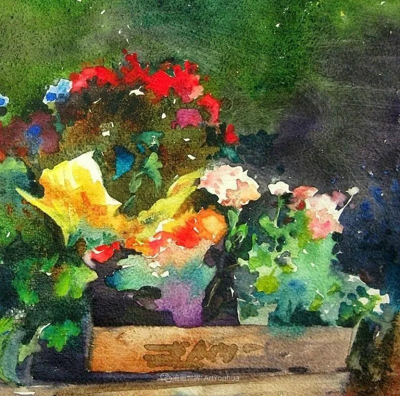 美国画家玛丽·麦克萨姆花卉作品选(下)插图91