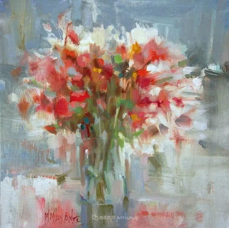 美国画家玛丽·麦克萨姆花卉作品选(下)插图93