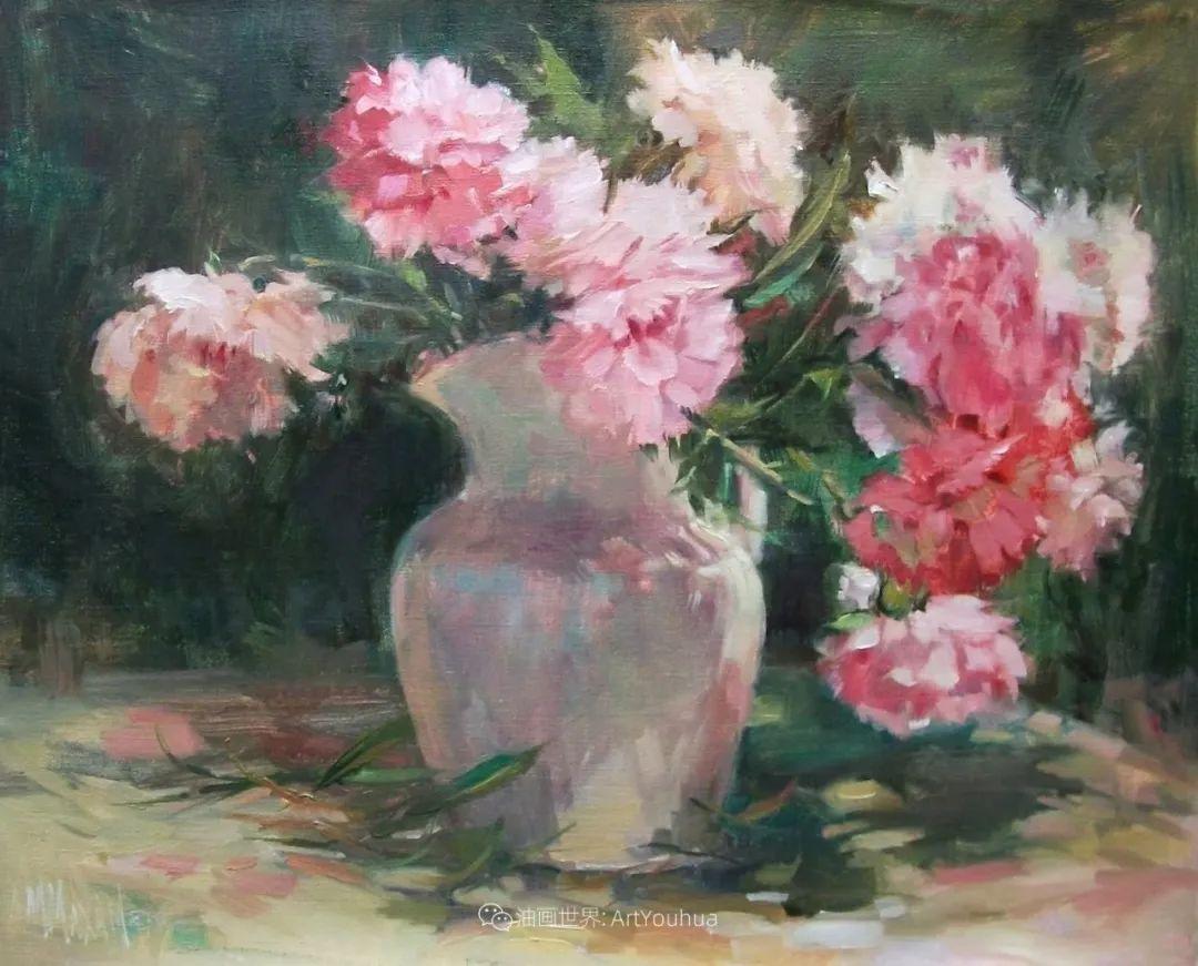 美国画家玛丽·麦克萨姆花卉作品选(下)插图97