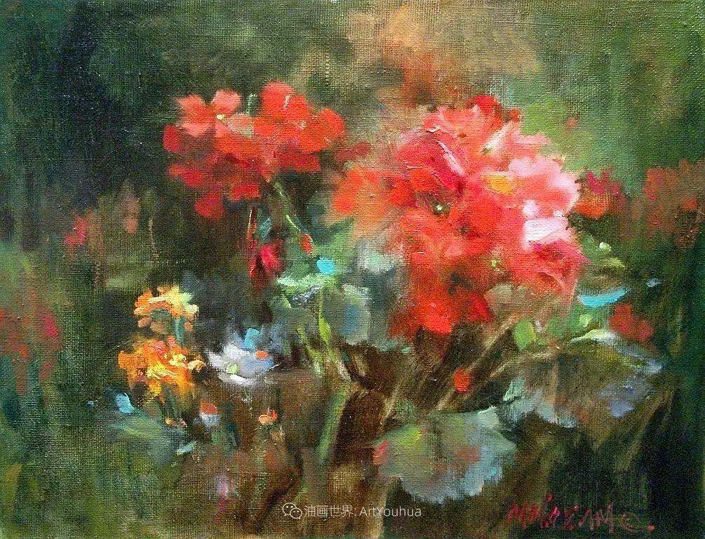 美国画家玛丽·麦克萨姆花卉作品选(下)插图99