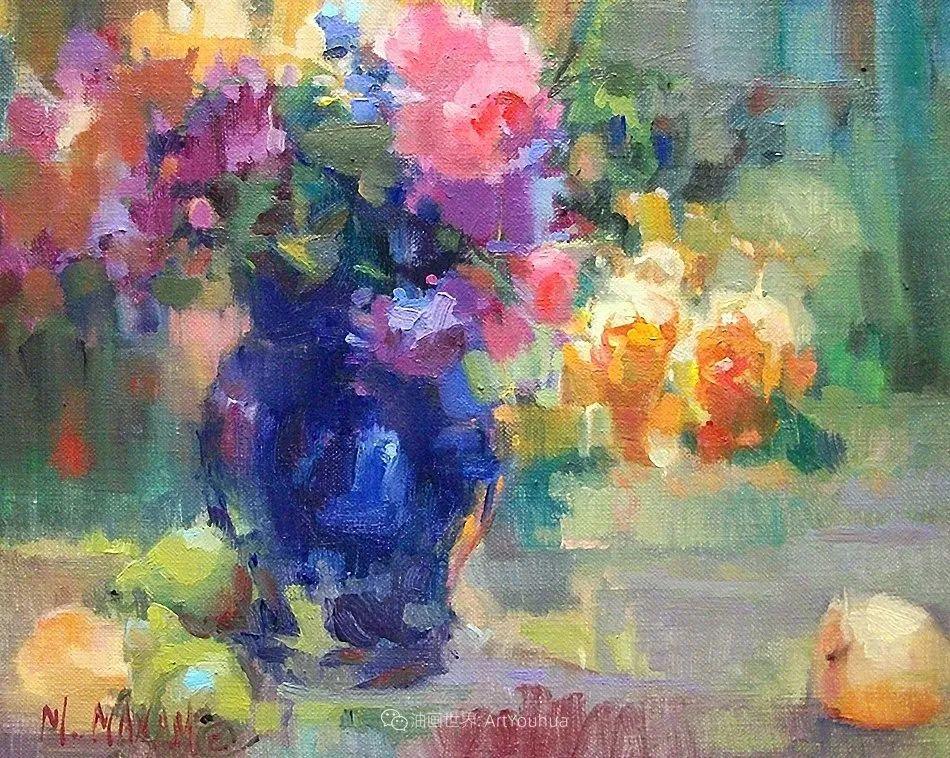 美国画家玛丽·麦克萨姆花卉作品选(下)插图101