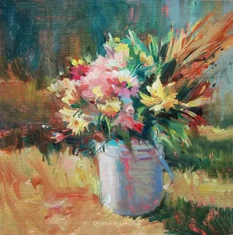 美国画家玛丽·麦克萨姆花卉作品选(下)插图103