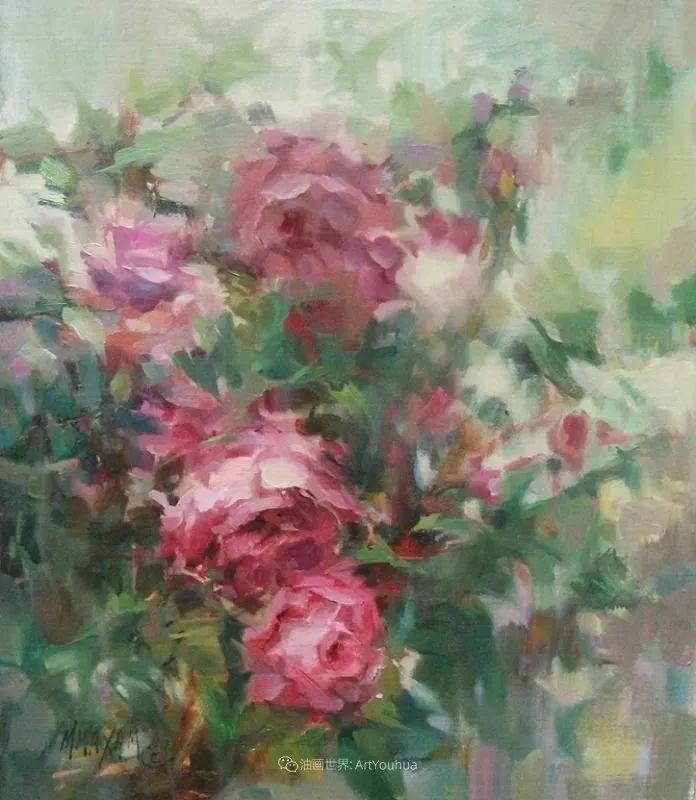 美国画家玛丽·麦克萨姆花卉作品选(下)插图107