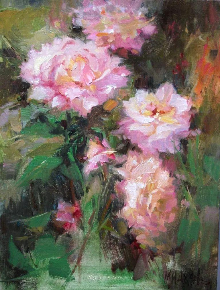 美国画家玛丽·麦克萨姆花卉作品选(下)插图109