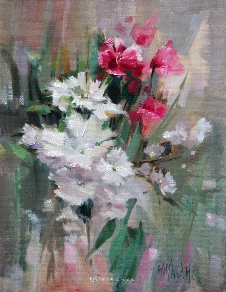 美国画家玛丽·麦克萨姆花卉作品选(下)插图111
