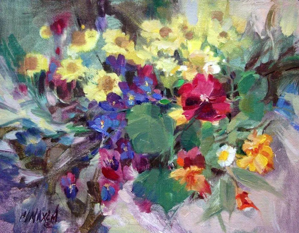 美国画家玛丽·麦克萨姆花卉作品选(下)插图113