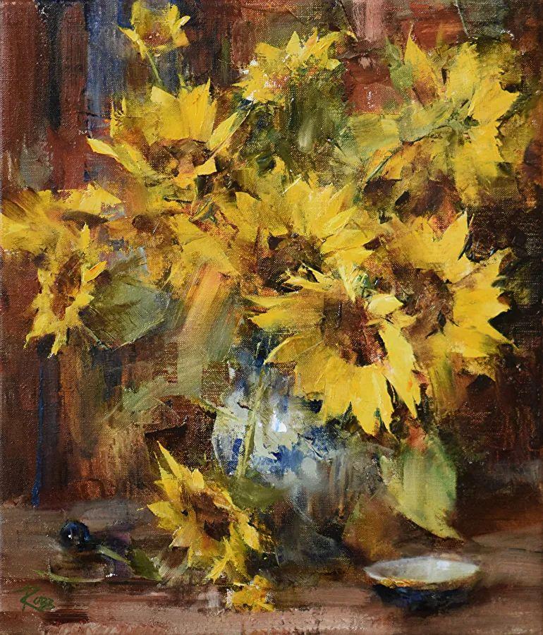 花与色的盛宴,印象派花草光影闪烁,生机盎然!插图1