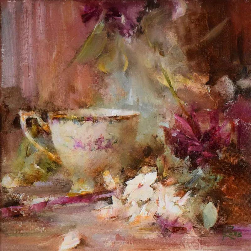 花与色的盛宴,印象派花草光影闪烁,生机盎然!插图9