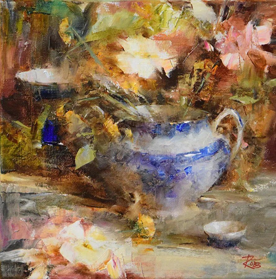 花与色的盛宴,印象派花草光影闪烁,生机盎然!插图11