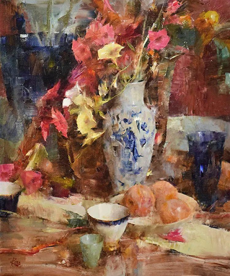 花与色的盛宴,印象派花草光影闪烁,生机盎然!插图13