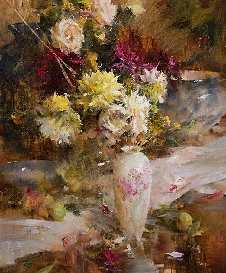 花与色的盛宴,印象派花草光影闪烁,生机盎然!插图15