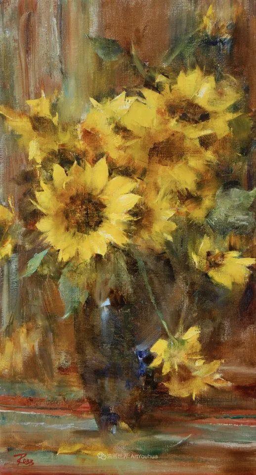 花与色的盛宴,印象派花草光影闪烁,生机盎然!插图29