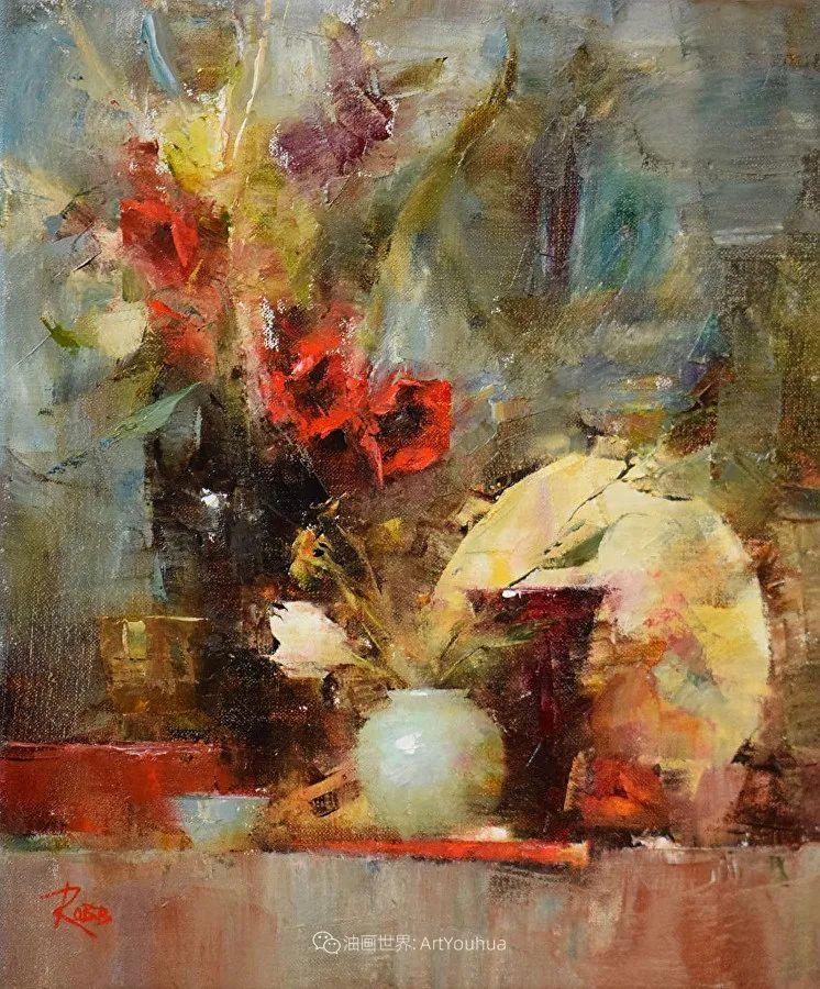 花与色的盛宴,印象派花草光影闪烁,生机盎然!插图35